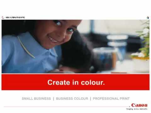 Canon Business Machines microsite, Ken Buckfield, Brighton based marketing consultant